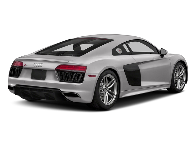 Florett Silver Metallic 2018 Audi R8 Coupe Pictures R8 Coupe V10 quattro AWD photos rear view