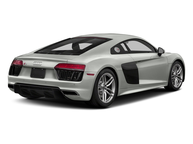Suzuka Gray Metallic 2018 Audi R8 Coupe Pictures R8 Coupe V10 RWD photos rear view