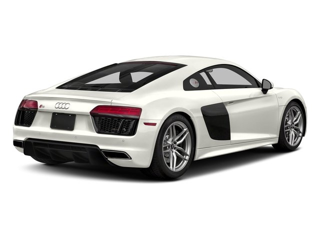 Ibis White 2018 Audi R8 Coupe Pictures R8 Coupe V10 quattro AWD photos rear view