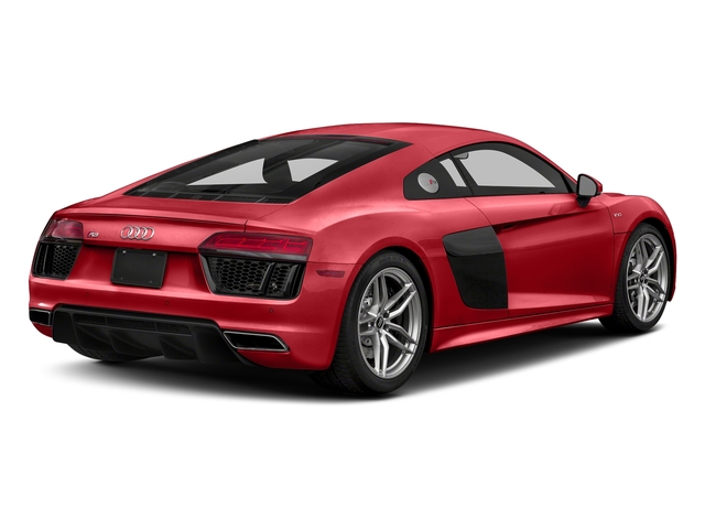 Tango Red Metallic 2018 Audi R8 Coupe Pictures R8 Coupe V10 quattro AWD photos rear view