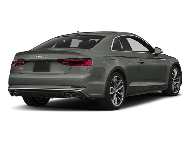 Daytona Gray Pearl Effect 2018 Audi S5 Coupe Pictures S5 Coupe 3.0 TFSI Prestige photos rear view