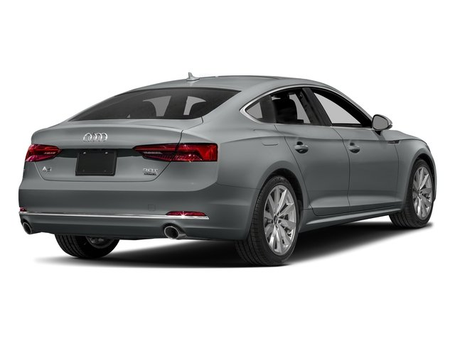 Monsoon Gray Metallic 2018 Audi A5 Sportback Pictures A5 Sportback 2.0 TFSI Premium Plus photos rear view