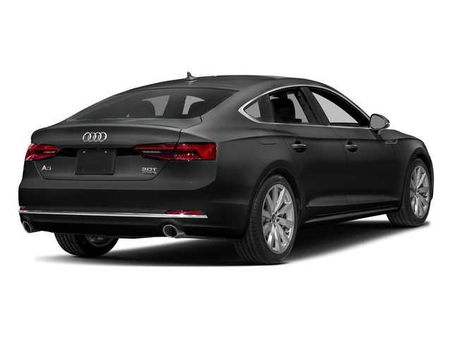 Mythos Black Metallic 2018 Audi A5 Sportback Pictures A5 Sportback 2.0 TFSI Premium Plus photos rear view