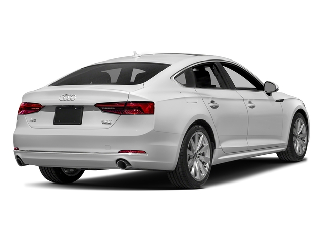Glacier White Metallic 2018 Audi A5 Sportback Pictures A5 Sportback 2.0 TFSI Premium Plus photos rear view