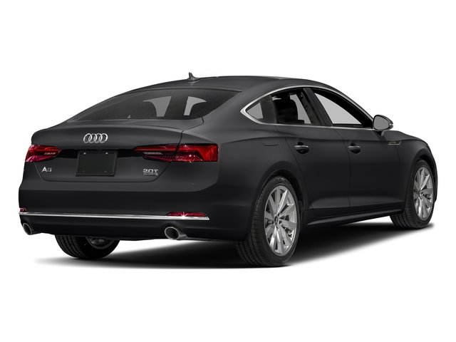 Manhattan Gray Metallic 2018 Audi A5 Sportback Pictures A5 Sportback 2.0 TFSI Premium Plus photos rear view