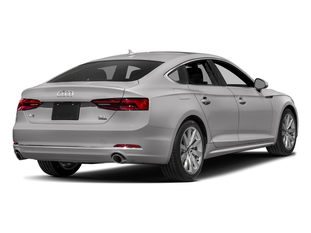 Florett Silver Metallic 2018 Audi A5 Sportback Pictures A5 Sportback 2.0 TFSI Premium Plus photos rear view