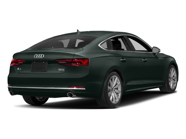 Gotland Green Metallic 2018 Audi A5 Sportback Pictures A5 Sportback 2.0 TFSI Premium Plus photos rear view