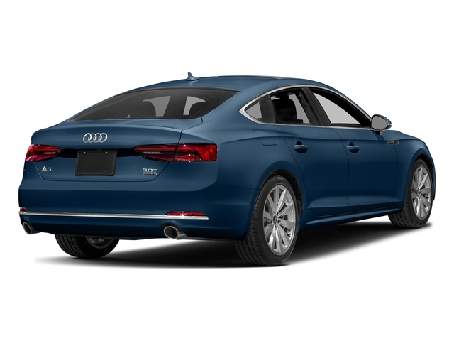 Scuba Blue Metallic 2018 Audi A5 Sportback Pictures A5 Sportback 2.0 TFSI Premium Plus photos rear view