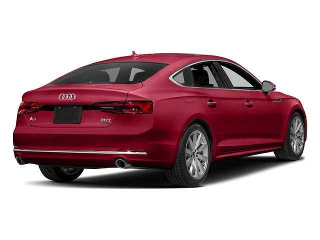 Matador Red Metallic 2018 Audi A5 Sportback Pictures A5 Sportback 2.0 TFSI Premium Plus photos rear view