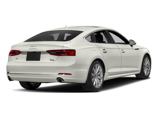 Ibis White 2018 Audi A5 Sportback Pictures A5 Sportback 2.0 TFSI Premium Plus photos rear view