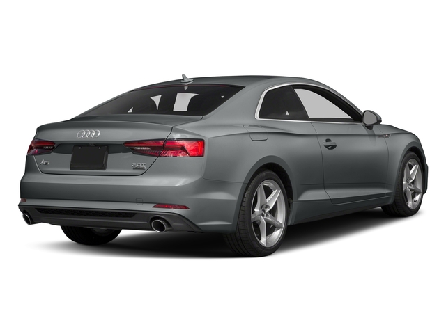 Monsoon Gray Metallic 2018 Audi A5 Coupe Pictures A5 Coupe 2.0 TFSI Prestige Manual photos rear view