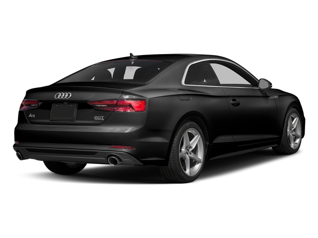 Brilliant Black 2018 Audi A5 Coupe Pictures A5 Coupe 2.0 TFSI Prestige Manual photos rear view