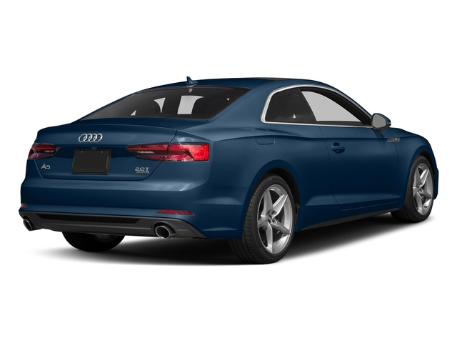 Scuba Blue Metallic 2018 Audi A5 Coupe Pictures A5 Coupe 2.0 TFSI Prestige Manual photos rear view