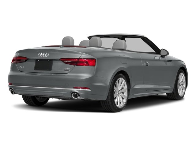 Monsoon Gray Metallic/Black Roof 2018 Audi A5 Cabriolet Pictures A5 Cabriolet 2.0 TFSI Premium photos rear view