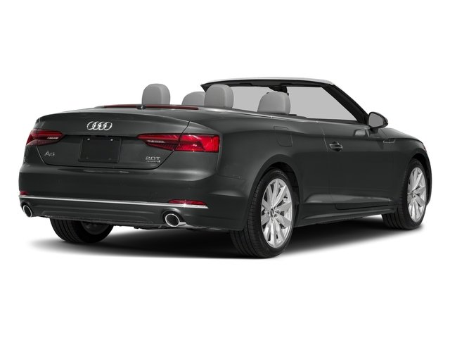 Mythos Black Metallic/Black Roof 2018 Audi A5 Cabriolet Pictures A5 Cabriolet 2.0 TFSI Premium photos rear view