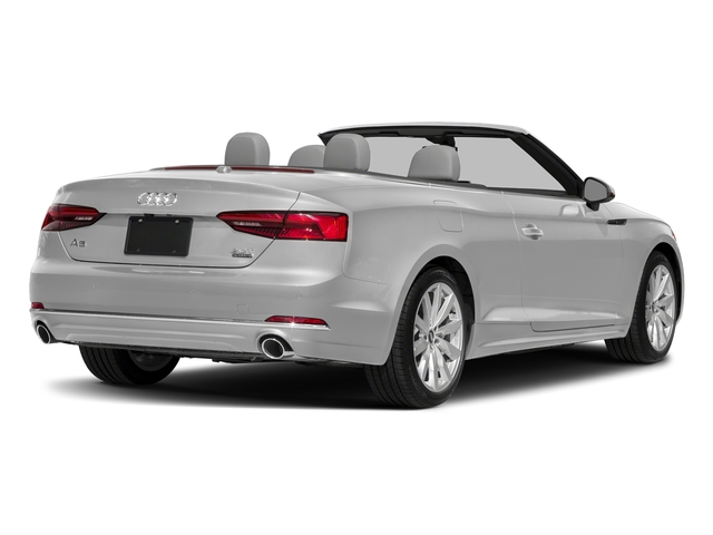 Florett Silver Metallic/Black Roof 2018 Audi A5 Cabriolet Pictures A5 Cabriolet 2.0 TFSI Premium photos rear view