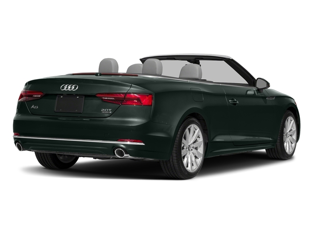 Gotland Green Metallic/Black Roof 2018 Audi A5 Cabriolet Pictures A5 Cabriolet 2.0 TFSI Premium photos rear view