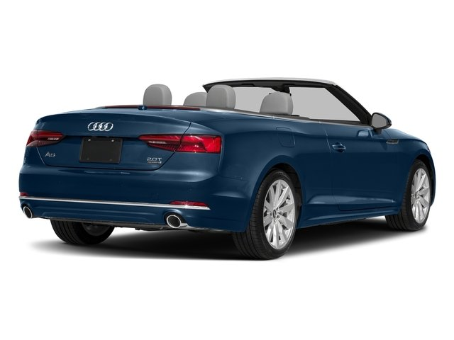 Scuba Blue Metallic/Black Roof 2018 Audi A5 Cabriolet Pictures A5 Cabriolet 2.0 TFSI Premium photos rear view