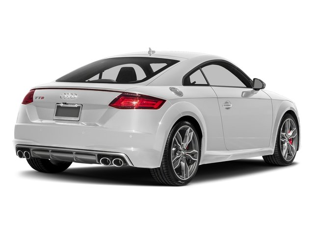 Glacier White Metallic 2018 Audi TTS Pictures TTS 2.0 TFSI photos rear view