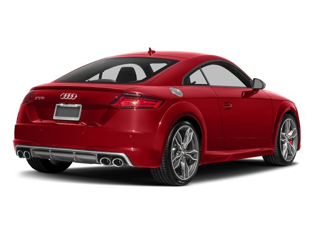 Tango Red Metallic 2018 Audi TTS Pictures TTS 2.0 TFSI photos rear view