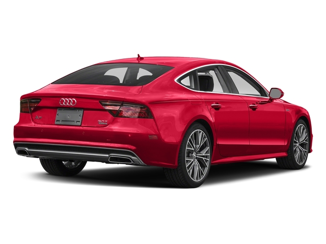 Misano Red Pearl Effect 2018 Audi A7 Pictures A7 3.0 TFSI Premium Plus photos rear view