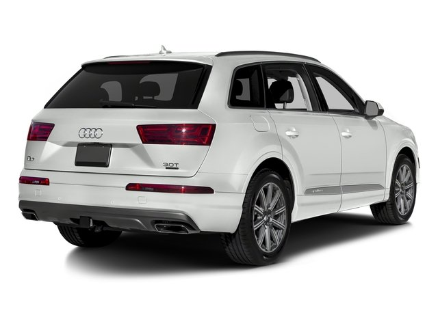 Carrara White 2018 Audi Q7 Pictures Q7 3.0 TFSI Prestige photos rear view