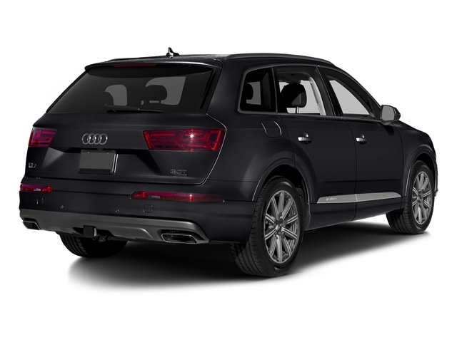 Orca Black Metallic 2018 Audi Q7 Pictures Q7 3.0 TFSI Prestige photos rear view