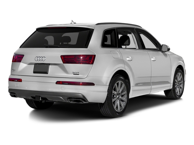 Glacier White Metallic 2018 Audi Q7 Pictures Q7 2.0 TFSI Premium photos rear view