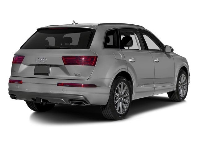 Samurai Gray Metallic 2018 Audi Q7 Pictures Q7 2.0 TFSI Premium photos rear view