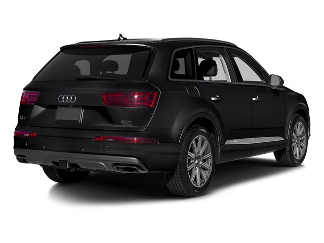 Night Black 2018 Audi Q7 Pictures Q7 2.0 TFSI Premium Plus photos rear view