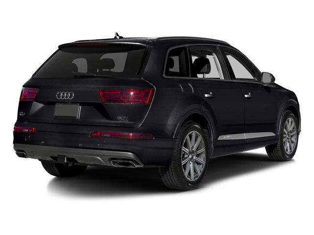 Night Black 2018 Audi Q7 Pictures Q7 3.0 TFSI Prestige photos rear view