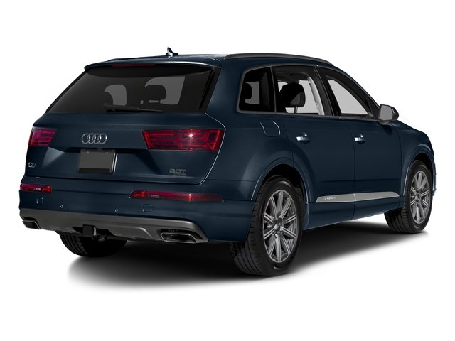 Ink Blue Metallic 2018 Audi Q7 Pictures Q7 2.0 TFSI Premium Plus photos rear view