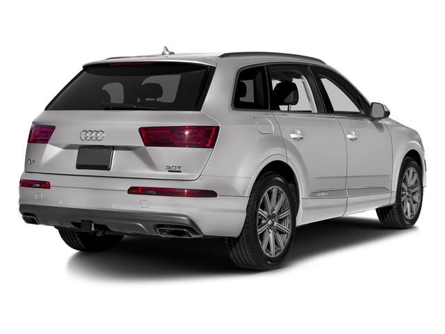 Florett Silver Metallic 2018 Audi Q7 Pictures Q7 2.0 TFSI Premium photos rear view