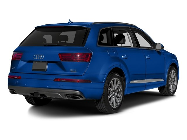 Galaxy Blue Metallic 2018 Audi Q7 Pictures Q7 2.0 TFSI Premium Plus photos rear view