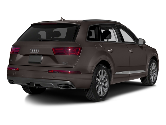 Argus Brown Metallic 2018 Audi Q7 Pictures Q7 2.0 TFSI Premium photos rear view