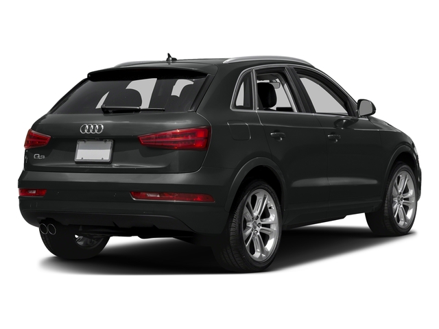 Mythos Black Metallic 2018 Audi Q3 Pictures Q3 2.0 TFSI Sport Premium Plus FWD photos rear view