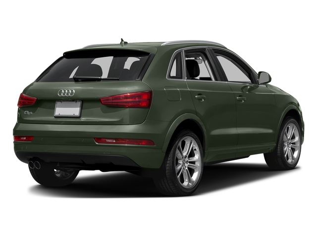 Camouflage Green Metallic 2018 Audi Q3 Pictures Q3 2.0 TFSI Sport Premium Plus FWD photos rear view