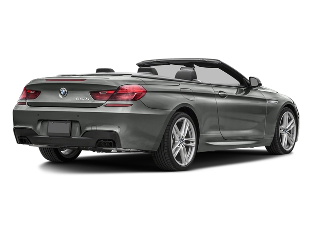 Space Gray Metallic 2018 BMW 6 Series Pictures 6 Series 650i xDrive Convertible photos rear view