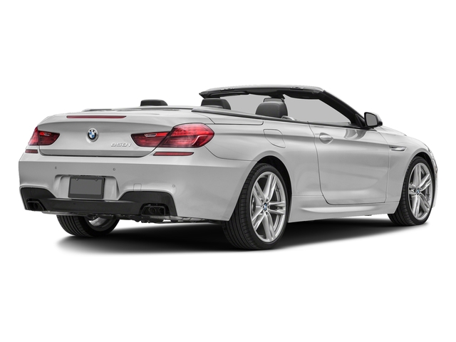 Mineral White Metallic 2018 BMW 6 Series Pictures 6 Series 650i xDrive Convertible photos rear view