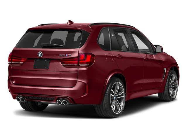 Melbourne Red Metallic 2018 BMW X5 M Pictures X5 M Utility 4D M AWD photos rear view