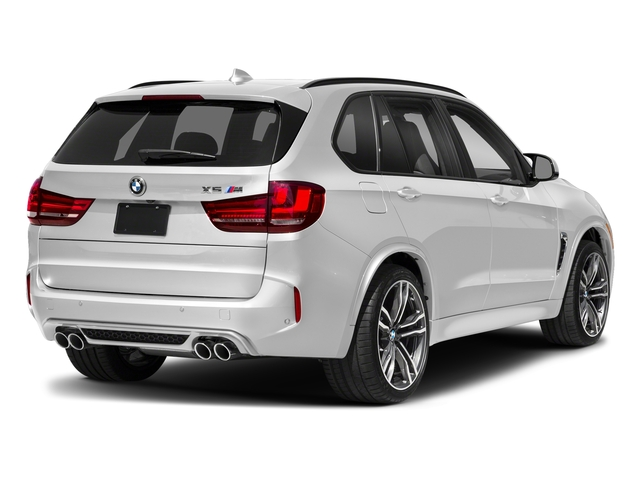 Mineral White Metallic 2018 BMW X5 M Pictures X5 M Utility 4D M AWD photos rear view