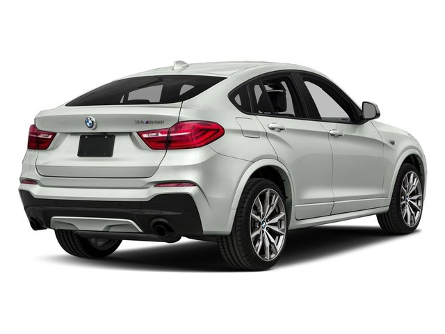 Alpine White 2018 BMW X4 Pictures X4 M40i Sports Activity Coupe photos rear view