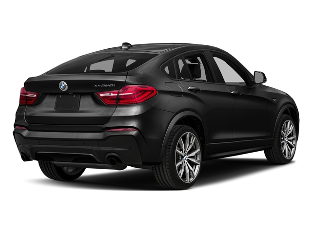 Black Sapphire Metallic 2018 BMW X4 Pictures X4 M40i Sports Activity Coupe photos rear view
