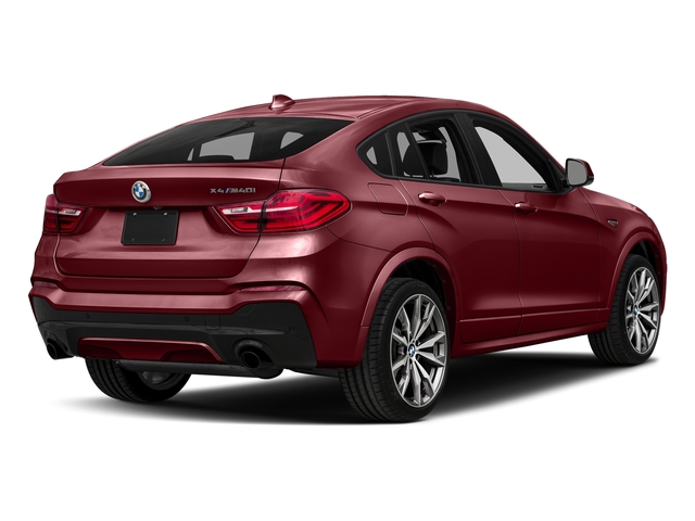 Melbourne Red Metallic 2018 BMW X4 Pictures X4 M40i Sports Activity Coupe photos rear view