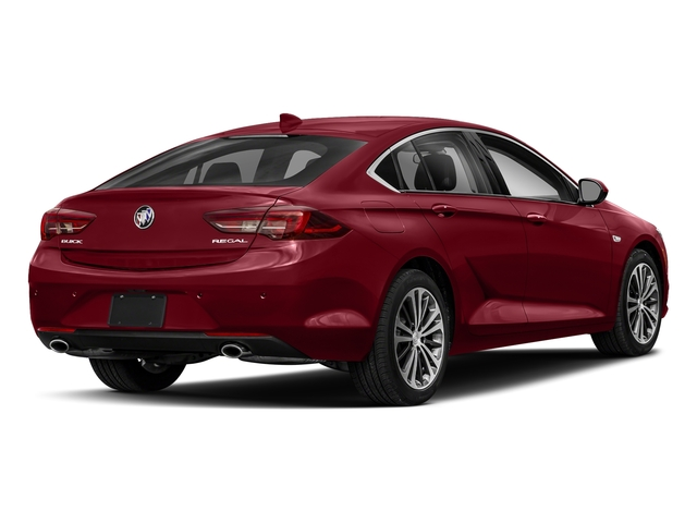 Rioja Red Metallic 2018 Buick Regal Sportback Pictures Regal Sportback 4dr Sdn Preferred II FWD photos rear view