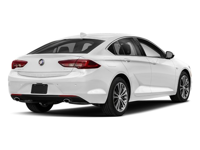 Summit White 2018 Buick Regal Sportback Pictures Regal Sportback 4dr Sdn Preferred II FWD photos rear view