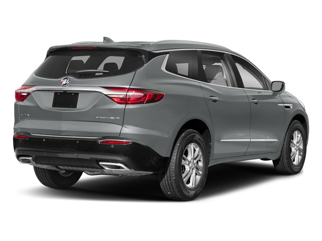 Satin Steel Metallic 2018 Buick Enclave Pictures Enclave FWD 4dr Avenir photos rear view