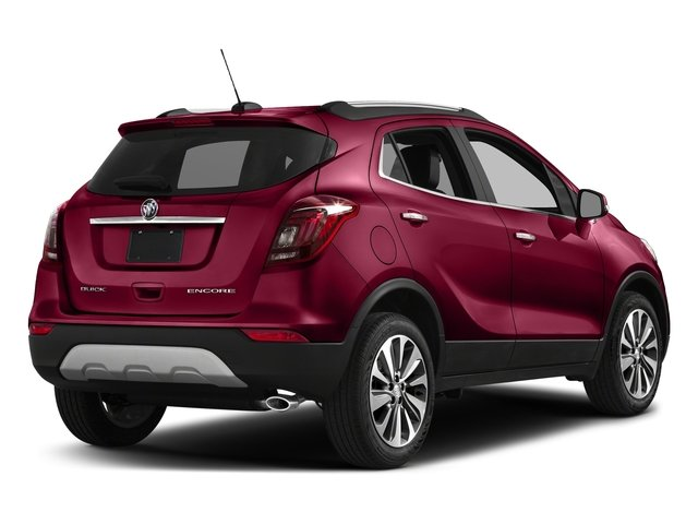 Winterberry Red Metallic 2018 Buick Encore Pictures Encore AWD 4dr Sport Touring photos rear view
