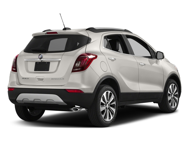 White Frost Tricoat 2018 Buick Encore Pictures Encore AWD 4dr Sport Touring photos rear view