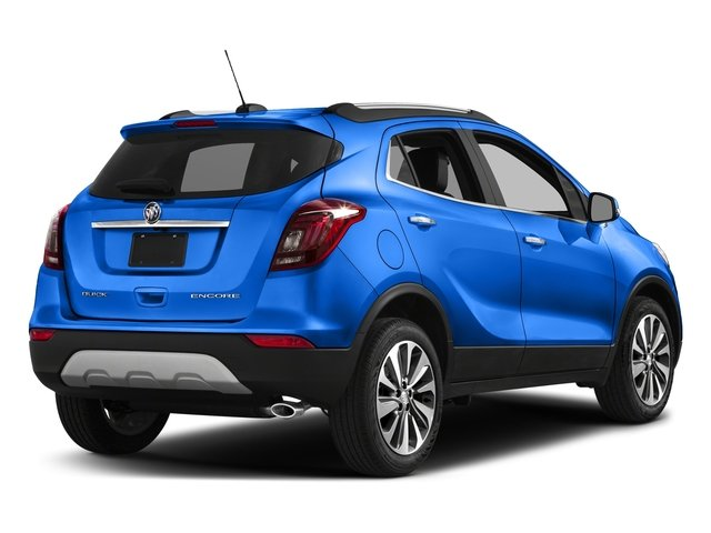 Coastal Blue Metallic 2018 Buick Encore Pictures Encore FWD 4dr photos rear view